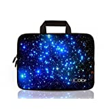 """Starry Night iColor 16"""" 16.5"""" 17"""" 17.3"""" Netbook / Laptop Ultra-Portable Neoprene Sleeve Carrying Case Briefcase Handle Bag Pouch Tote for Apple MacBook Pro, Lenovo, HP, Dell, Toshiba, Acer, Samsung, ASUS 16.5"""" 17"""" 17.3"""" Laptop PC"""