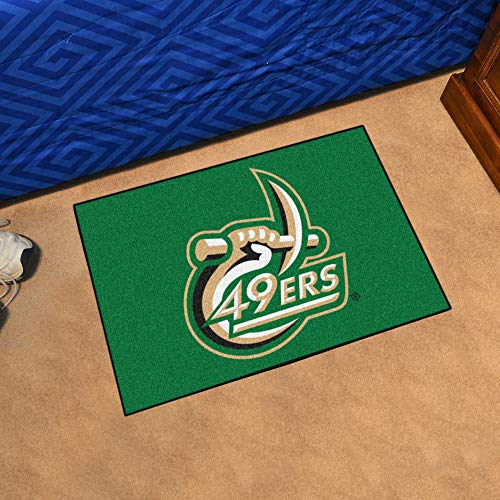 Unc Charlotte Football Team - FANMATS NCAA UNC University of North Carolina - Charlotte 49ers Nylon Face Starter Rug