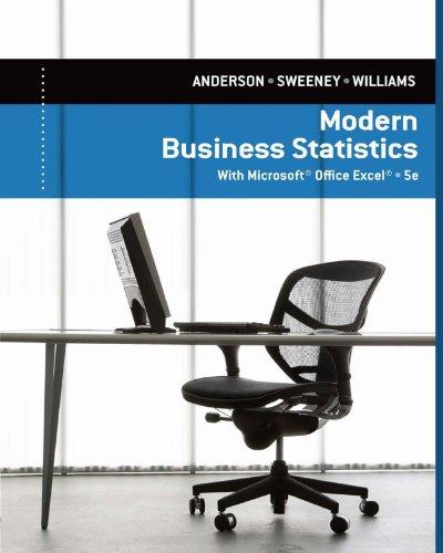 Modern Business Statistics with Microsoft Excel Pdf