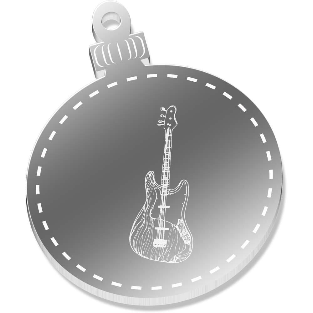 2 x 52mm Guitarra Eléctrica Espejo Decoraciones de Navidad (CB00035120): Amazon.es: Juguetes y juegos