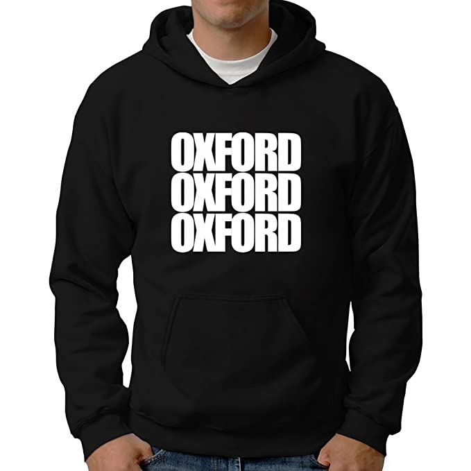 Eddany Oxford three words Sudadera con capucha: Amazon.es: Ropa y accesorios
