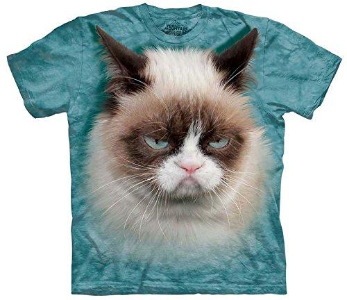 The Mountain Mens Grumpy Cat T-Shirt