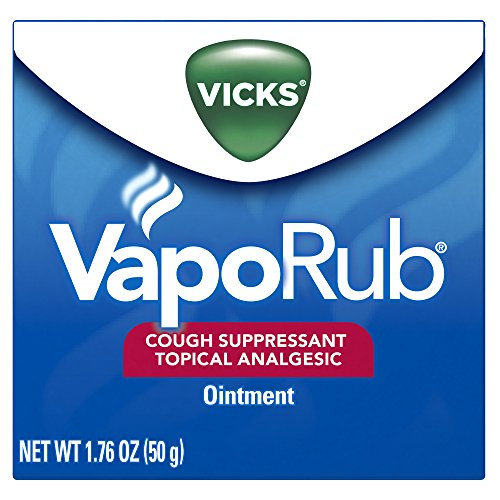 Vicks VapoRub Soothing Chest Rub Cough Suppressant,1.76 Oz (Chest Cherry Rub)