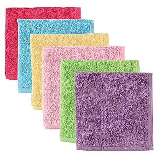 Luvable Friends Washcloths, Pink, 6-Count (B00BFY4MUY) | Amazon price tracker / tracking, Amazon price history charts, Amazon price watches, Amazon price drop alerts