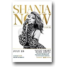 Shania Twain Poster - 2018 concert Promo 11 x 17 for Now Tour
