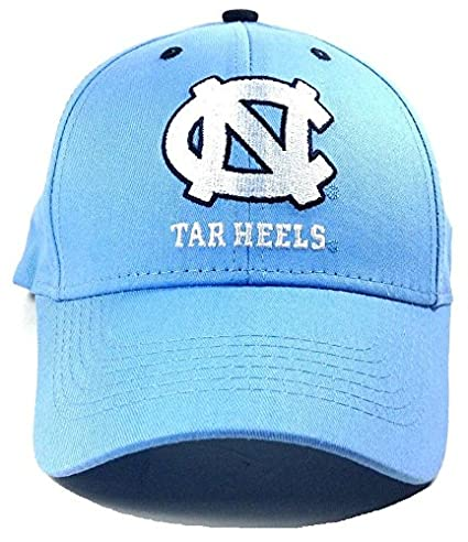 new style ce188 567ea Image Unavailable. Image not available for. Color  UNC North Carolina Tar  Heels Adjustable Logo Cap ...