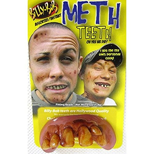 Teeth Billy Bob Meth Assted Designs - Cosmetic Surgery Costume