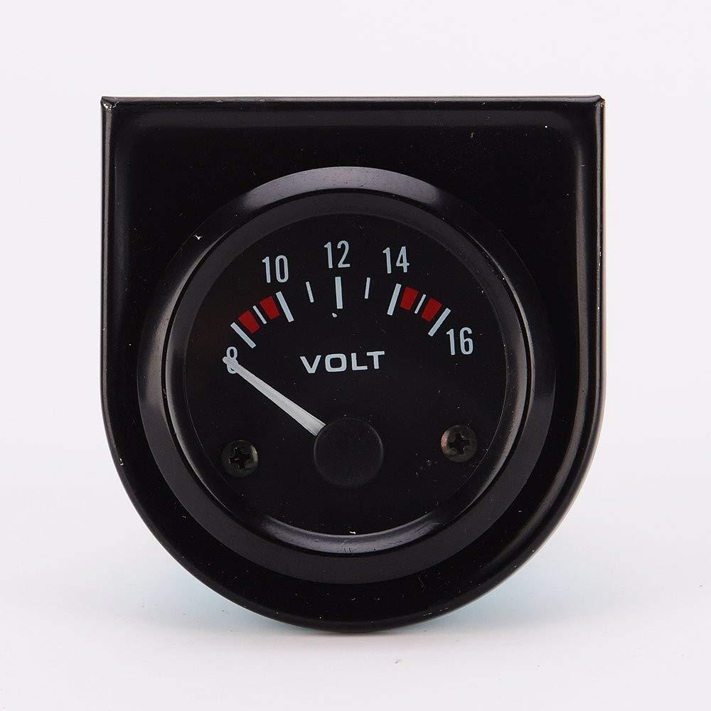 YTYCJSFH 52MM voltímetro de a Bordo Detector de Voltaje CC voltímetro a Prueba de Agua voltímetro Digital Cabeza