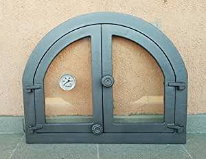 Puerta Del Horno para pizza Horno Puerta Madera del Horno Puerta ...