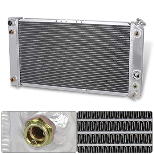 (AJP Distributors Tri-Core 3Row Full Aluminum High Performance Radiator For 1996 1997 1998 1999 2000 2001 2002 2003 2004 Chevy S10 Blazer Jimmy S15 Sonoma 96 97 98 99 00 01 02 03 04 Upgrade Replacement)