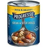 Progresso Rich & Hearty Sirloin Steak & Vegetable Soup, 18.8 Ounce