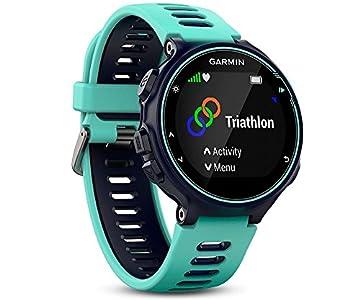 Garmin – Forerunner 735XT – Montre GPS Multisports avec Cardio Poignet (Ecran : 1,23 pouces) – Bleu et Vert d'Eau