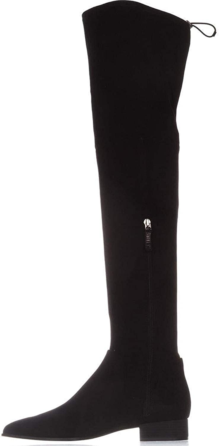 DKNY Tyra Over The Knee Boots, Black, 7