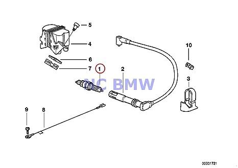 amazon com bmw genuine motorcycle engine ignition system spark plug rh amazon com