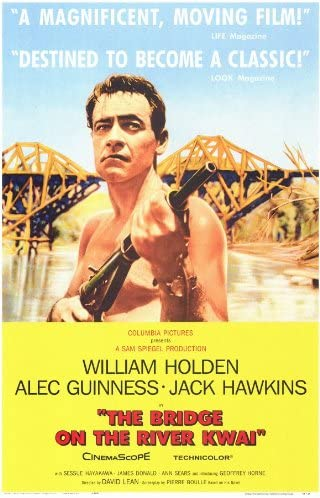 Amazon.com: Bridge on the River Kwai Poster Movie 11x17 William Holden Alec  Guinness Jack Hawkins: Prints: Posters & Prints