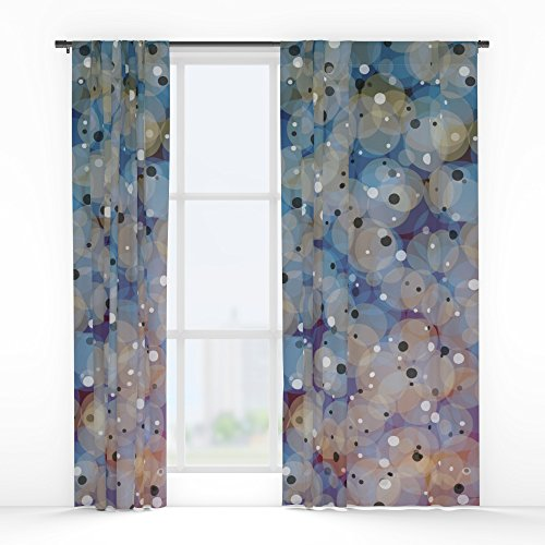 Single Supernova (Society6 Supernova Window Curtains Single Panel)