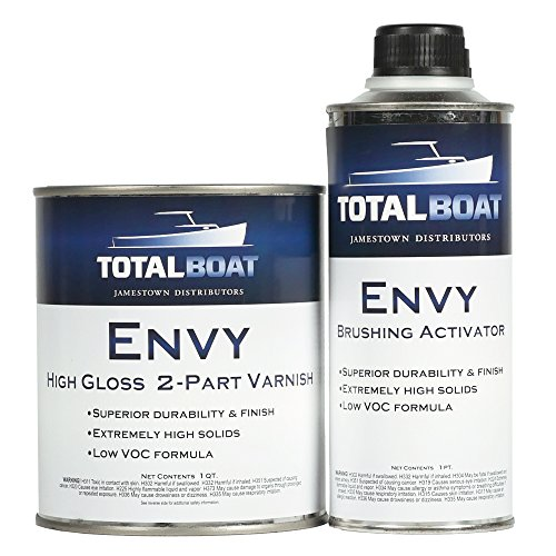 TotalBoat Envy 2 Part Varnish (High Gloss, Quart)