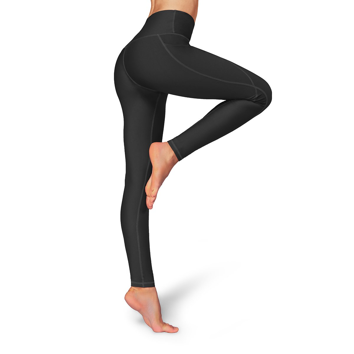 35cd4f052153ca Occffy High Waist Out Pocket Yoga Pants Womens Tummy Control Workout  Leggings Oc01: Amazon.co.uk: Sports & Outdoors