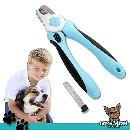 Green Street Pet Basics Dog Nail Clippers with Nail File
