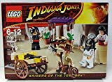 #9: Lego 7195 Indiana Jones Raiders of the Lost Ark Ambush in Cairo MISB