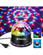 Solmore Led-discobal, 51 leds 12 W, partylamp, RGB, lichteffect, podiumverlichting, partyverlichting, decoratieve verlichting