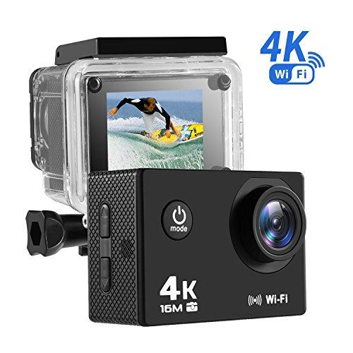 NEXGADGET 4K Action Camera, EXPLORER1 Series Waterproof Spor