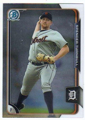 2015 Bowman Chrome Prospects #BCP-221 Spencer Turnbull Tigers MLB Baseball Card NM-MT (2015 Baseball Cards Tigers)