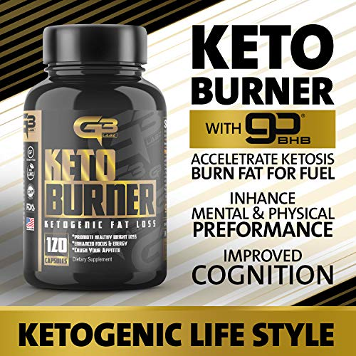 Keto Fat Burner Pills, Exogenous Ketones W/ 2g Go Bhb Keto Weight Loss Supplement & Garcinia Cambogia Blend for Men & Women. Ketone Supplement for Belly Fat, Appetite Suppressant, Energy, Ketosis by GLADIATOR GYM GEAR (Image #7)