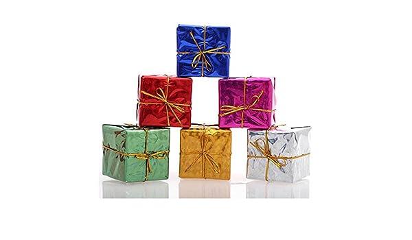 MIRRAY Decoraciones de Adornos de árbol de Navidad de Moda 12PC: Amazon.es: Hogar