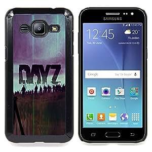 "Qstar Arte & diseño plástico duro Fundas Cover Cubre Hard Case Cover para Samsung Galaxy J2 / J200 (Dayz Z - Zombie juego"")"