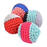 Shumee Hand-Knitted Softie Balls| Washable Soft Squishy Chew Toys for Infants and Babies| 100% Safe, Natural & Eco-Friendly|0 Year+