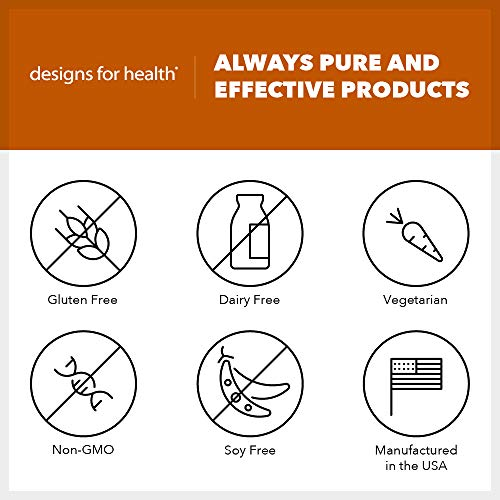 Designs for Health C3 Curcumin Complex - 95% Curcuminoids, 400mg from 3 Turmeric Curcuminoids (60 Capsules) by designs for health (Image #2)