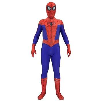 NDHSH Spiderman Paralelo Universo niño Adulto Disfraz ...