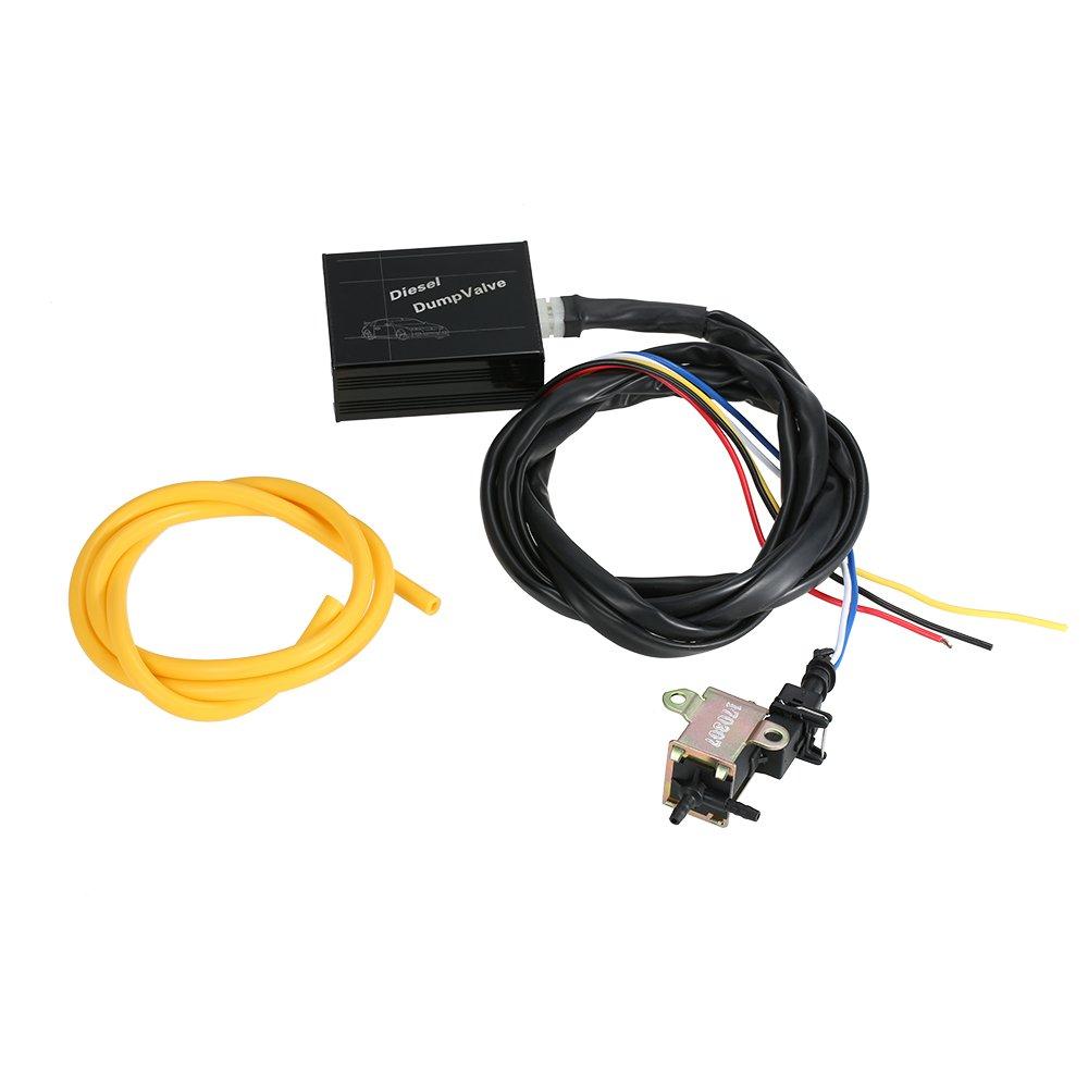 KKmoon Diesel Válvula de Descarga Electrónico Accesorios Universal Blow Off Válvula: Amazon.es: Coche y moto