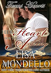 Her Heart for the Asking, a Western Romance (Texas Hearts Book 1) (English Edition)
