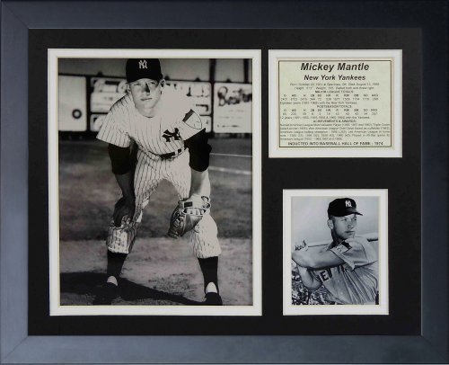 Legends Never Die  Mickey Mantle  Young Framed Photo Collage, 11 x 14-Inch by Legends Never Die