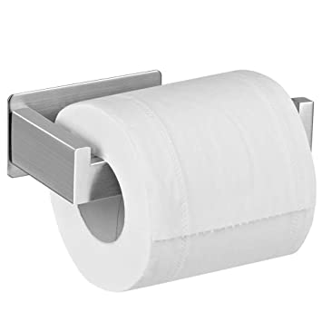 Self Adhesive Toilet Paper Holder Stainless Steel Wall Moun Toilet