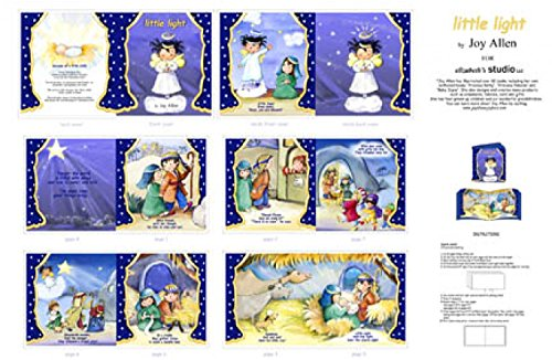 tmas Nativity Story Fabric Book Panel by Joy Allen (Great for Quilted Book Kit, Quilting, Sewing, Craft Projects, Wall Hangings, Throw Pillows and More) 35