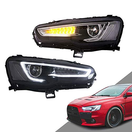 Compare Prices On Mitsubishi Lancer Intake Online: Mitsubishi Lancer Evolution Headlight, Headlight For