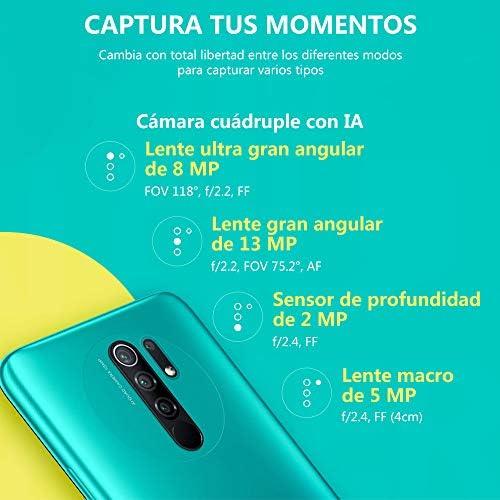 "Xiaomi Redmi 9 Smartphone, 3 GB + 32 GB, AI Quad Camera 6.53 ""Full HD + Display 5020 mAh (typ), Viola (Sunset Purple) WeeklyReviewer"