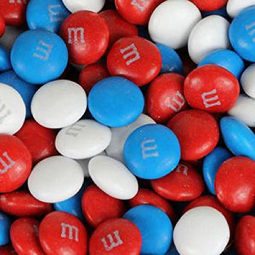 M&M's American Spirit Patriotic Milk Chocolate Candy 1LB Bag