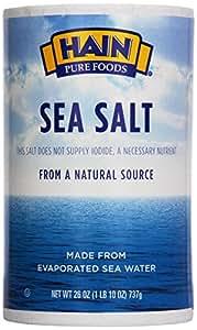 Hain, Sea Salt, 26 oz