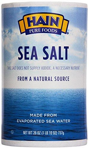 Hain, Sea Salt, 26 oz ()