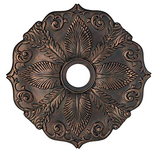 Classic Roman Bronze 24'' Wide Ceiling Medallion by Universal Lighting and Decor (Image #2)