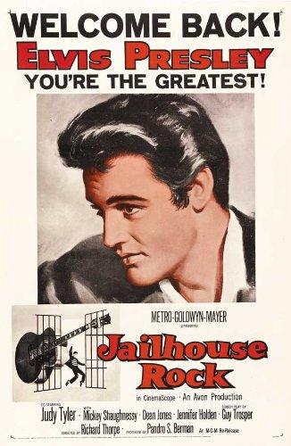 - Jailhouse Rock 11x17 Movie Poster (1957)