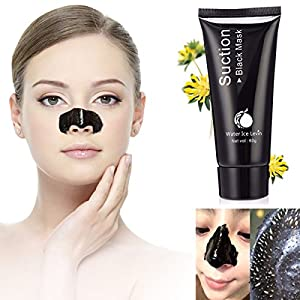 LuckyFine Blackhead Remover Mask Deep Cleansing Purifying Peel Off Blackhead Absorbing Pores Stubborn Dirt