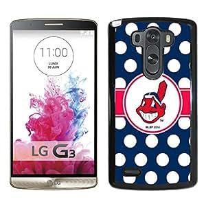 LG G3 Case,Cleveland Indians Black For LG G3 Case