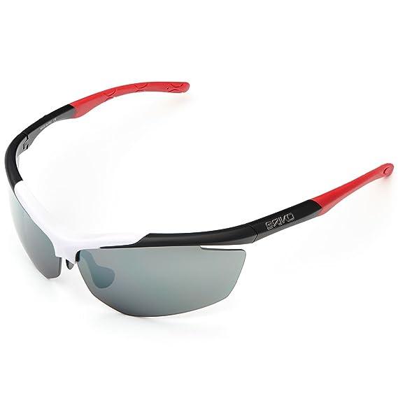 Briko Trident Sonnenbrille 2, Radfahren, Unisex Erwachsene Einheitsgröße orange