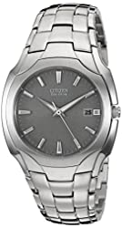 Citizen Men's BM6010-55A Stainless Steel Eco-Drive Watch