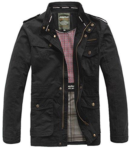 Uomo black Szyysd Giacca 8255 Camicia z1gwZwS